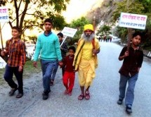 Day- 727: Bharat Parikrama Yatra enters Uttar Pradesh after 156 days of Uttarakhand Visit