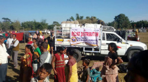 Seva Bharati- Relief Distribution- Assam
