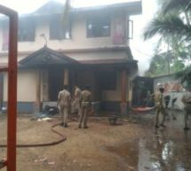 RSS Karyalaya in Payyanoor Kannor was attacked by Marxist goons