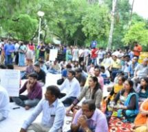 NDTF organized a Dharna and demonstration