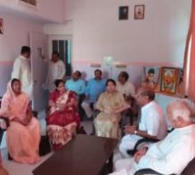 Sarsanghachalak Ji talks with the leadership of Matrishakti and Ghumantu Caste