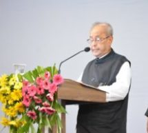 Let's try to make India a happy country – Dr. Pranab Mukharjee