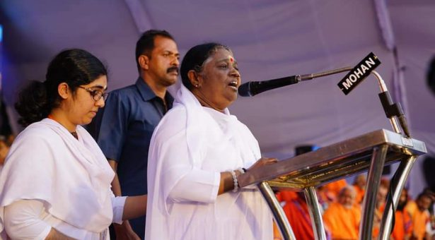 Translation of Amma's Malayalam speech at Ayyappa Bhakt Sangamam