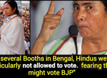 Entire Hindus of a village barred from voting in Mamata's WB