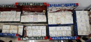 Tuticorin Port – DRI seizes more than 300 kg of cocaine valued at approx. Rs. 2,000 crore in international market