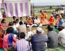 Bhoomi Pujan for Vivekananda Health Mission project