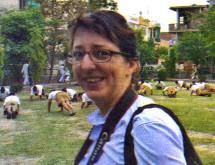 संघ की शाखा में आईं जर्मनी की पत्रकार