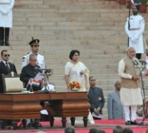 Narendra Modi sworn in; becomes the second RSS Swayamsevak to be the Prime Minister of India
