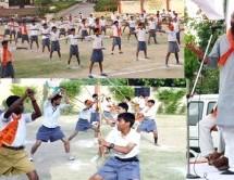 बजरंग दल दिल्ली का प्रशिक्षण शिविर सम्पन्न