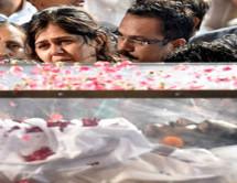 राजकीय सम्मान के साथ गोपीनाथ मुंडे का अंतिम संस्कार, नम आंखों से बेटी पंकजा ने दी मुखाग्नि