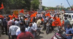 हिन्दू मुन्नानी के नेता केपी सुरेश की हत्या से जनरोष