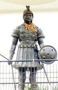 Suhel Dev statue