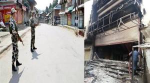 तावड़ू कस्बे में साम्प्रदायिक हिंसा के बाद कर्फ्यू