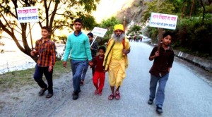 Day- 727: Bharat Parikrama Yatra enters Uttar Pradesh after 156 days of Uttarakhand Visit