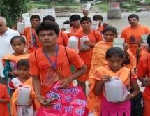कांवड़ लेने पाक से भी आये हिन्दू, दिल्ली में करेगें 'भोले' का जलाभिषेक