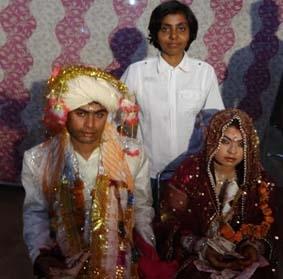 पाक से आये हिन्दू परिवार के तारो जी की बेटी गोपनी की शादी