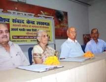विश्व संवाद केन्द्र ने मनाया आचार्य महावीर प्रसाद व्दिवेदी का जन्म दिन