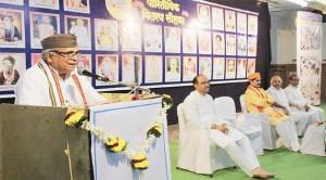 हिन्दू समाज के अस्तित्व को अक्षुण्ण बनाये रखने में संतों की महती भूमिका : सरकार्यवाह