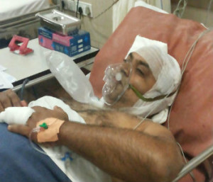 RSS activist Phaneendra attacked while going for morning Shakha in Bangalore