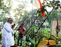 सरकार्यवाह जी भारत बांग्लादेश सीमा पर तीन बीघा कोरिडोर पहुंचे