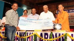 """शैलेशभाई रावल को श्री रमणभाई शाह """"साधना"""" पत्रकारिता गौरव पुरस्कार"""