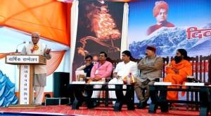 सेवाभाव भारतवासियों के रक्त में : भय्या जी जोशी