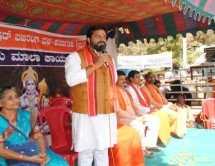 Thousands attended 'Hanuman Maala Abhiyan' at Kishkindha Hill, Bellary Karnataka