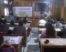 """ There is no alternative to hard work"" : Tayi Kaye, Deputy Commissioner"