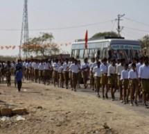 म्याजलार खंड में पथ संचलन का आयोजन