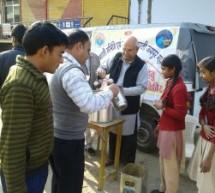 सेवा भारती ने स्वाइन फ्लू के उपचार के लिये जयपुर में 20 स्थानों पर शिविर लगाये