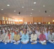 RSS annual report presented by Sarkaryavah Bhayya ji joshi in Akhil Bharatiya Pratinidhi Sabha 2015