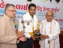 Badminton legend Pullela Gopichand conferred with 'Hindu Ratna' award by VHP