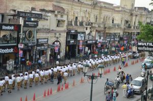 लखनऊ महानगर पथ संचलन कार्यक्रम
