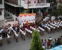 Path Sanchalan held by Shiksharthis of 3rd year Sangh Shiksha Varg