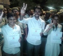 12 वर्ष बाद जयनारायण व्यास विश्वविद्यालय में विद्यार्थी परिषद का परचम