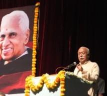 कृष्णप्पा जी के आदर्शों को अपने जीवन में धारण करने का संकल्प लें – डॉ. मोहन भागवत