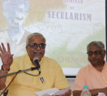 A self-aware, organised and active society is the remedy for all the misconceptions in the society – Sri Bhayyaji Joshi