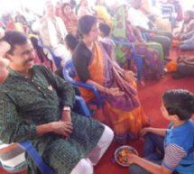 800 परिवार बंधुओं ने किया माता पिता का पूजन