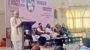 'Abhinavagupta was instrumental in propagating Bharatiya Thoughts' – Suresh Bhaiyyaji Joshi