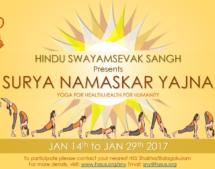 United States embraces health for Humanity Yogathon !