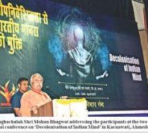 Prepare to win the intellectual war – Sarsanghachalak Dr. Mohan Bhagwat Ji