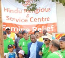 3,000 food hampers distributed by Hindu Religious Service Centre (HRSC) Kenya