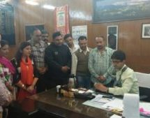 विहिप ने प्रदेश भर में आतंकवादियों के खिलाफ किया विरोध प्रदर्शन