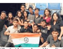 पेट्रोलियम यूनिवर्सिटी के छात्रों ने अमेरिका में परचम लहराया