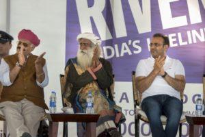 भारत की नदियों को बचाने के लिये सद्गुरू की पहल 'नदी अभियान' का शुभारंभ