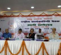 लघु उद्योग भारती की राष्ट्रीय कार्यकारिणी की बैठक संपन्न