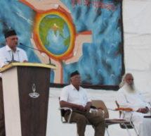 राष्ट्र के प्राचीन गौरव बोध व राष्ट्र भाव के जागरण हेतु हम सब स्वयंसेवक हैं – डॉ. भगवती प्रकाश जी