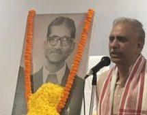 A true nationalist Bhagwat Swroop Ji