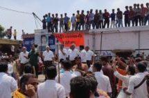मुस्लिम समुदाय के लोगों ने पथ संचलन को रोक किया पत्थराव, 05 कार्यकर्ताओं को चोटें आईं