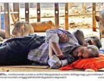 Midnight swoop on devotees in Sabarimala – cops brutalize men chanting prayers